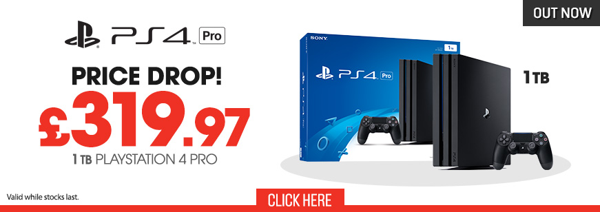 PS4 Pro Console Price Drop