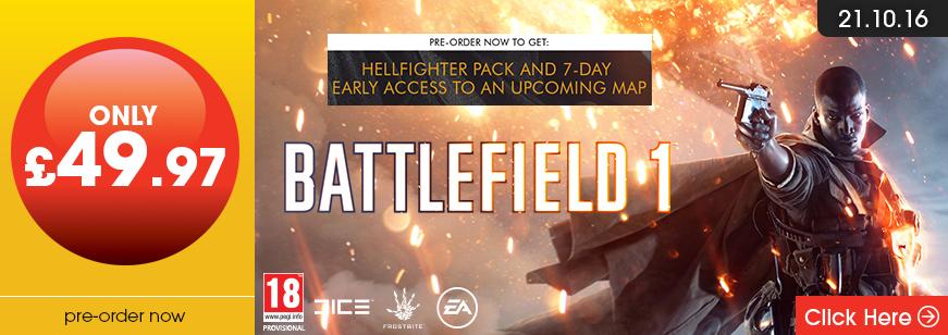Battlefield 1 Pre Order