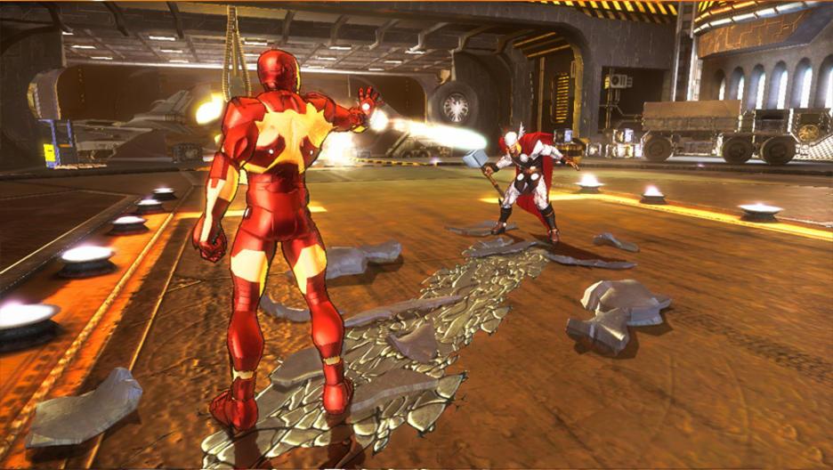 The Avengers Battle for Earth