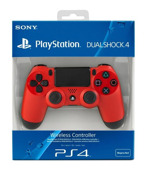 Dualshock 4 Wireless Controller Magma Red