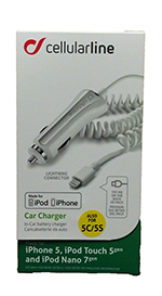 Cellularline: Car Charger iPhone 5