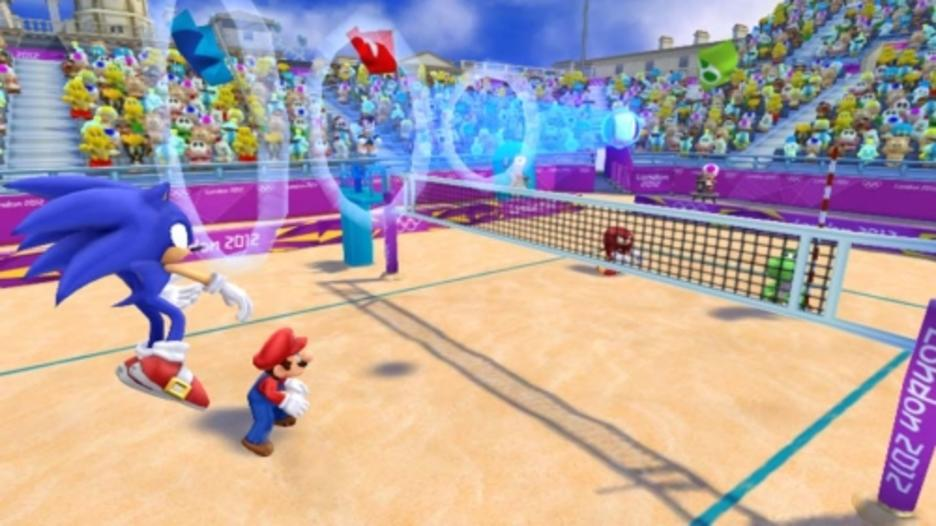 Mario and Sonic at the London 2012 Olympic Games