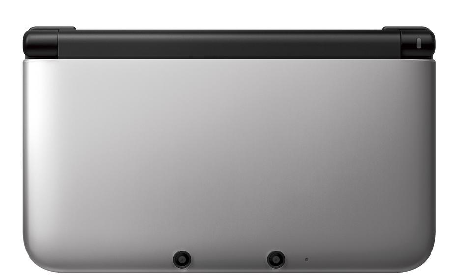 3DS XL - Silver + Black